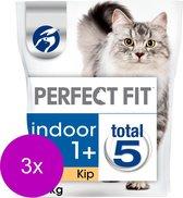 Perfect Fit Droogvoer Adult Indoor Kip - Kattenvoer - 3 x 1.4 kg