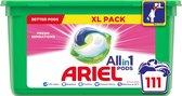 Ariel All in 1 Pods Fresh Sensations Wasmiddel - Kwartaalbox 3 x 37 Wasbeurten - Wasmiddelcapsules