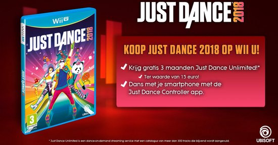 Nintendo Wii U - Just Dance 2018 - Nintendo