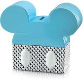 Disney Silver Colors Spaarpot Blauw 491008