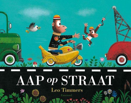 Boek cover Aap op straat van Leo Timmers (Hardcover)