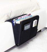 Grote handige opbergzak voor aan je Bed, Bank of Kast - Opruimen - Opbergvak - Opbergzak - Makkelijk - Woonaccessoires -Tijdschriftenrekken - Afstandsbediening - Tablet- iPad - Tijdschriften - Smartphone - Nachtkastje