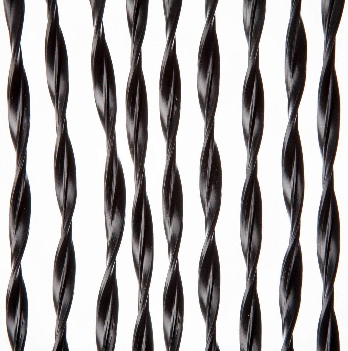 2LIF Paris Zwart Vliegengordijn deur - 93 x 210 cm