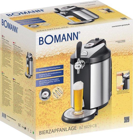 Bomann BZ 6029 CB thuistap biertap