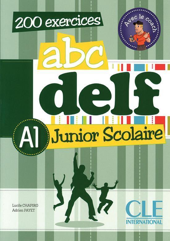 ABC DELF Junior Scolaire A1 livre+corrigés+transcriptions+DVD-rom