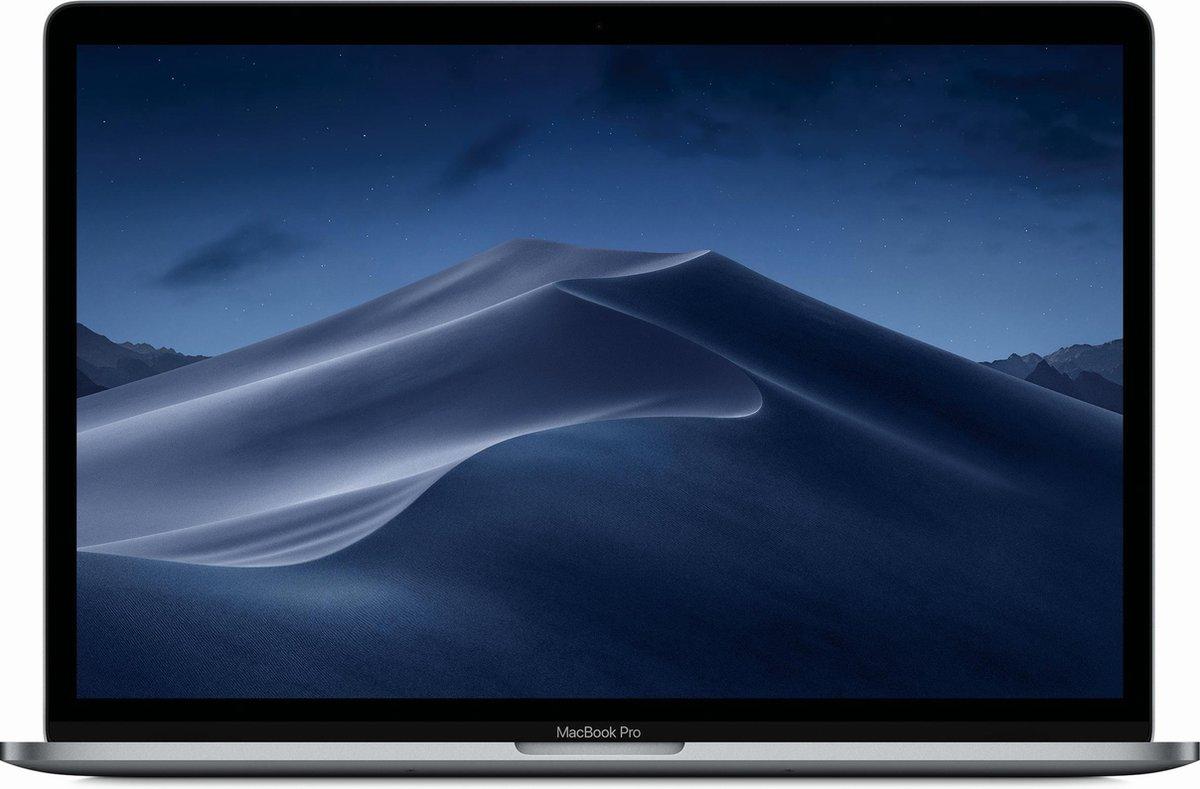 Apple MacBook Pro (2018) - 15.4 inch - 512 GB - Spacegrijs