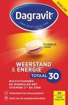 Dagravit Weerstand & Energie Totaal 30 Voedingssupplement - 50 kauwtabletten