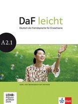 DaF Leicht A2.1 Kurs- und Übungsbuch + DVD-ROM