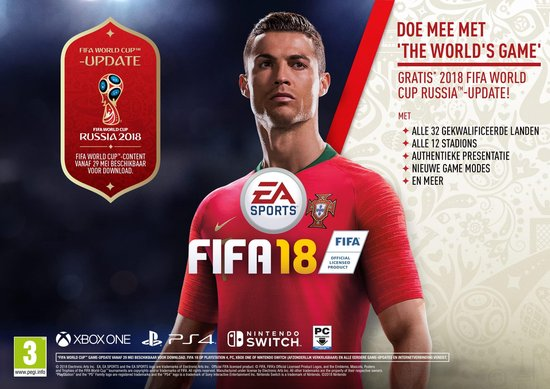 FIFA 18 - Xbox One - Electronic Arts