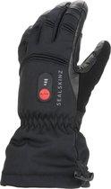 Sealskinz Waterproof Heated Gauntlet Fietshandschoenen - Maat M - Zwart