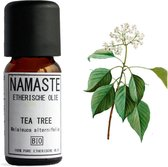 Namaste - 100% Biologische Tea Tree Olie - Essential Oil - Etherische olie