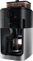 Philips Grind & Brew HD7767/00 - Koffiezetapparaat - Zwart/metaal