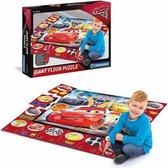 Clementoni Disney Cars 3 interactieve vloerpuzzel 24 stukjes (70x100cm)
