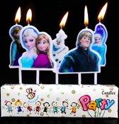 ProductGoods - 5 Verjaardagskaarsjes Frozen | Frozen | Verjaardag | Traktatie | Taart Decoratie | Kinderen | Vuurwerk taartversiering