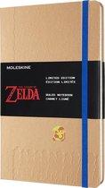 Moleskine Limited Edition Notitieboek Zelda Large (13x21 cm) Gelinieerd Moving Link