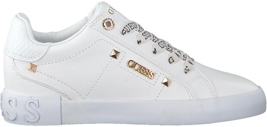 Guess sneakers laag puxly Wit-38 plf4e7pJ