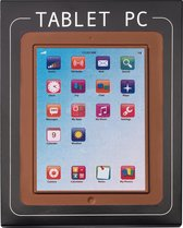 Weible chocolade tablet-PC 15 x 19cm