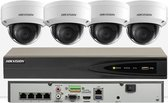 HIKVISION 5MP IP 2,3 of 4 x Camera's KIT 4K NVR Network Recorder Surveillance met 5MP IP 2,3 of 4 x DS-2CD2155FWD-I (Geen HDD, 4 x IP Kit)