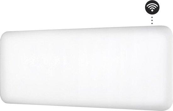 MILL NE1200WIFI - WiFi-geïntegreerde stalen paneelverwarming -1200 Watt
