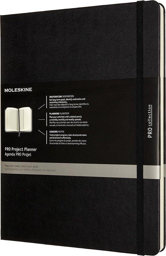 Afbeelding van Moleskine Professional Project Planner XL Zwart