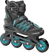 Roces Argon inline skates 84 mm black / azure