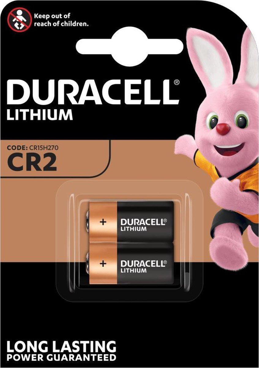 Duracell CR2 Batterij - 2 stuks