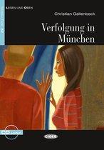 Lesen und Üben A2: Verfolgung in München Buch + Audio-CD