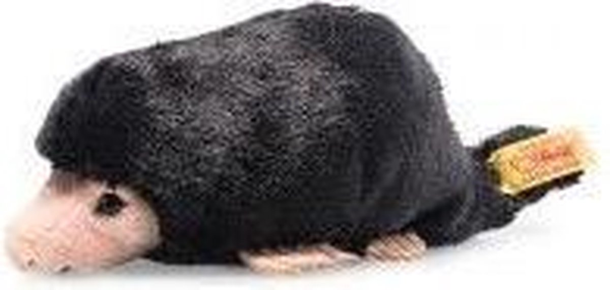 Steiff Bazi mole, black - 14cm