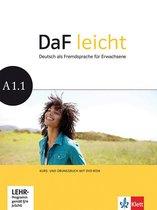 DaF Leicht A1.1 Kurs- und Übungsbuch + DVD-ROM