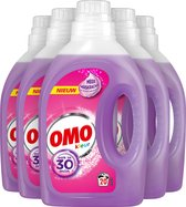 Omo Kleur Vloeibaar Wasmiddel - 5 x 20 wasbeurten - Voordeelverpakking