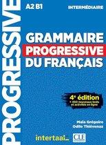 Grammaire progressive du français- niveau intermédiaire livre + CD audio + appli