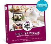 GiftForYou Cadeaubon - High Tea Deluxe