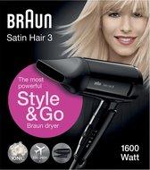Braun Satin Hair 3 HD350 Style&Go - Föhn