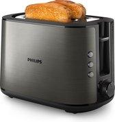 Philips Viva HD2650/80 - Broodrooster - Titanium