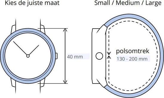 Apple Watch Series 4 - Smartwatch dames - 40 mm - Roze