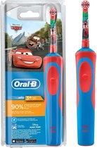 Oral-B Kids Disney Cars - Elektrische Tandenborstel - Rood, blauw