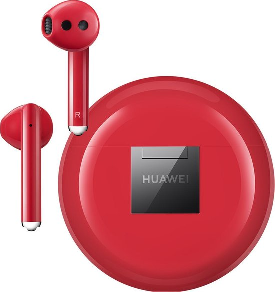 Huawei Freebuds 3 - met Actieve Noise Cancelling - Rood