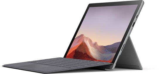Microsoft Surface Pro 7 (2019) - Core i5 - 128GB - Platinum - 12.3 inch 2 in 1 laptop 2 in 1 laptops