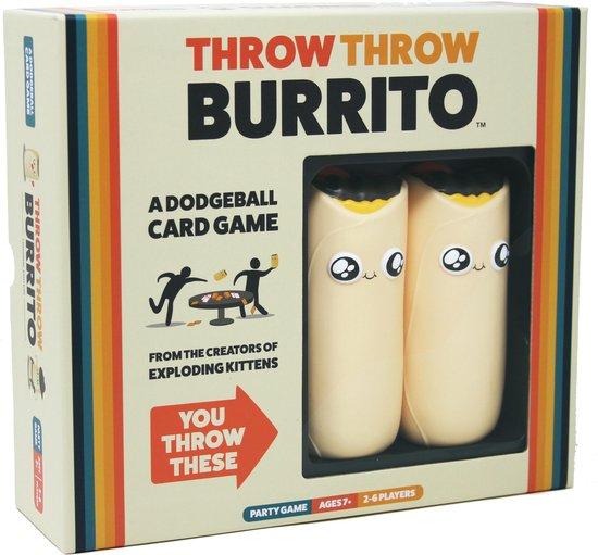 Throw Throw Burrito - Engelstalig Kaartspel