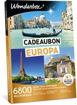 Wonderbox Cadeaubon - Europa