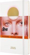 Moleskine Limited Edtion Notitieboek-David-Bowie-Large-Gelinieerd-Wit-(13x21cm)