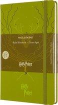 Moleskine Limited Edition Notitieboek-Harry Potter-Large-gelineerd-Book-3-Olive-Green-(13x21cm)