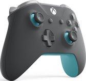 Xbox One Draadloze Controller - Grijs & Blauw
