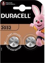 Duracell CR2032 Knoopcel Batterijen - 2 stuks