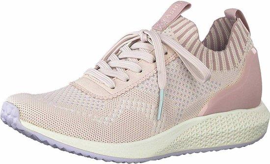 Tamaris Tavia Fashletics Sneaker Dames Roze