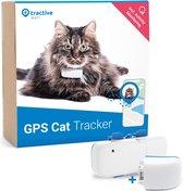 Tractive IKATI GPS tracker voor kat Editie 2020 - Halsband - GPS tracker met activiteitstracking met extra batterij