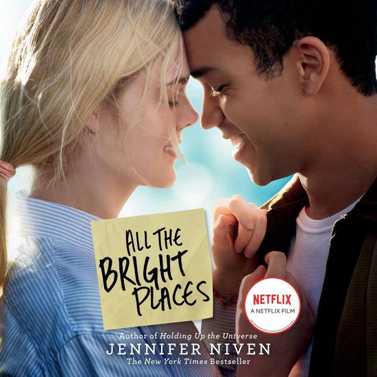 Boek cover All the Bright Places Movie Tie-In Edition van Jennifer Niven (Onbekend)