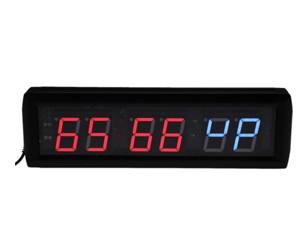 FEN Crossfit Clock - timer - interval training - afstandsbediening - geschikt voor crossfit en fitness