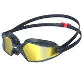 Speedo Hydropulse Mirror Goggle Zwembril Unisex - Navy/Grey - Maat One Size
