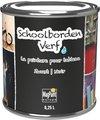 Schoolbordenverf 0.25 L (tot 2,5 m2) zwart waterbasis | Krijtbordverf